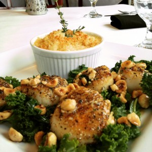 Scallops&Cauliflower
