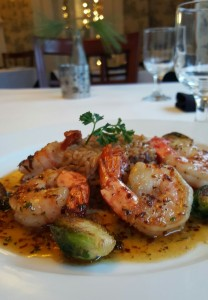 Colossal Shrimp with Lemon-Thyme-Honey Brown Butter