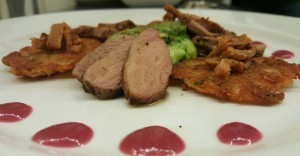 Maple Glazed Duck Breast