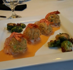 Lump Crab Stuffed Shrimp