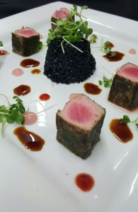 Green Tea and Sea Salt Seared Tuna