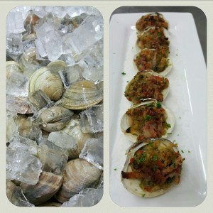 "Stuffed Clams ""1844"""