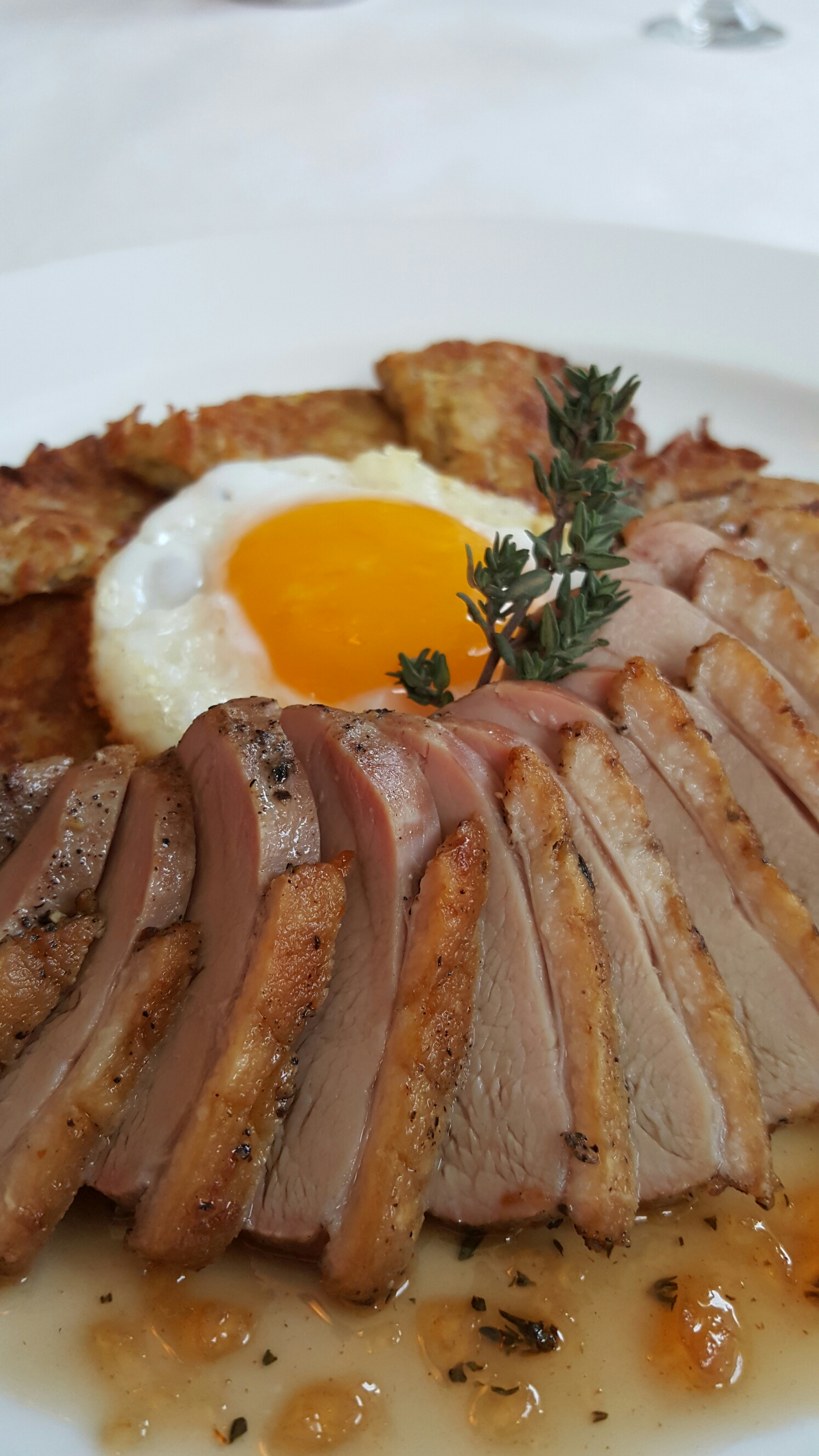 Pan Roasted L.I. Duck Breast