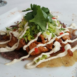 Smith Farm Chicken Tostada