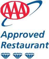 We are a AAA Travel Guide three Diamond Rated Restaurant